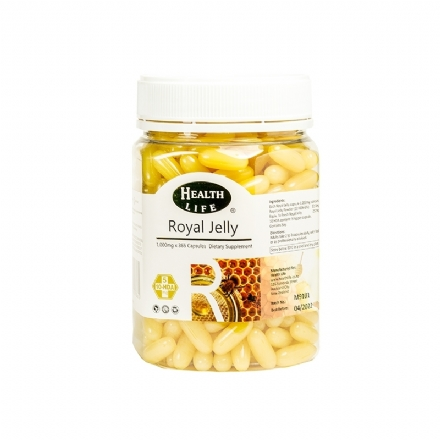Royal Jelly 1000mg 365s Health Life - Health Life